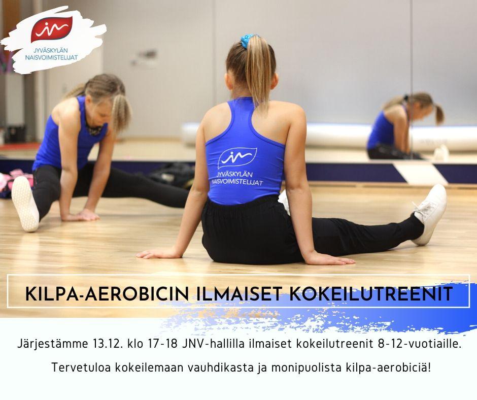 Kilpa-aerobicin ilmaiset kokeilutreenit